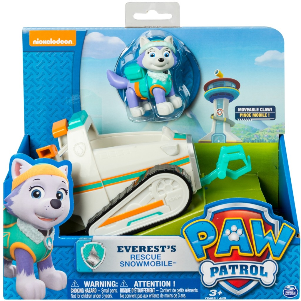 Paw Patrol playset in package from Amazon