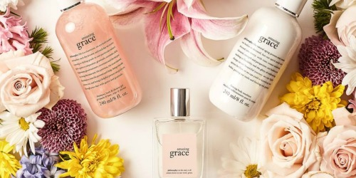 30% Off philosophy Amazing Grace Gift Sets, Perfume & More + Free Shipping for Kohl's Cardholders