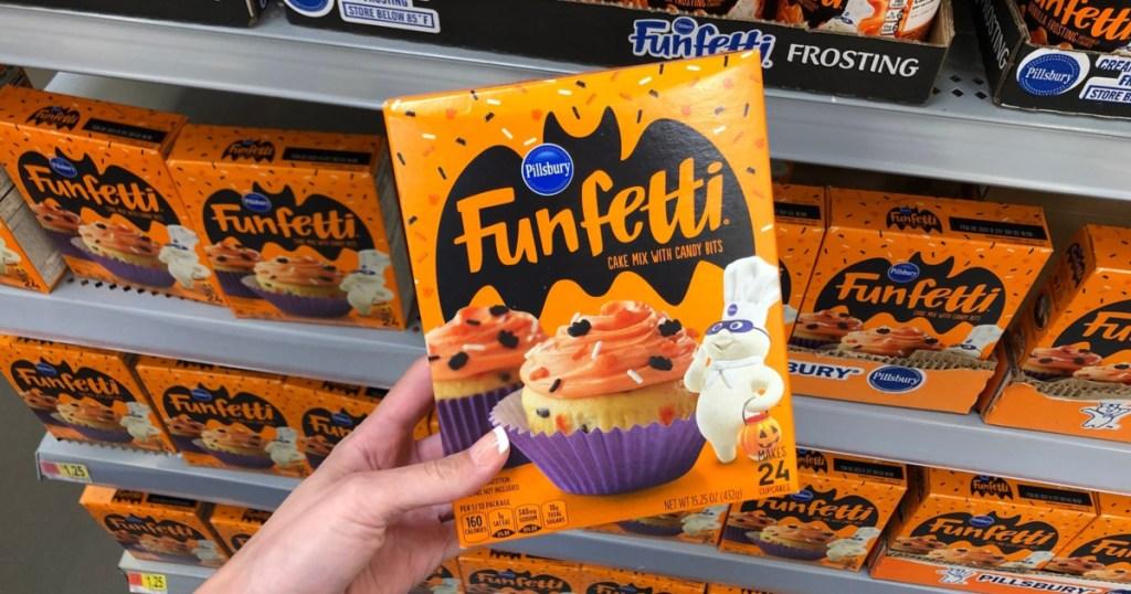 Pillsbury Halloween Funfetti Cake Mix at Walmart