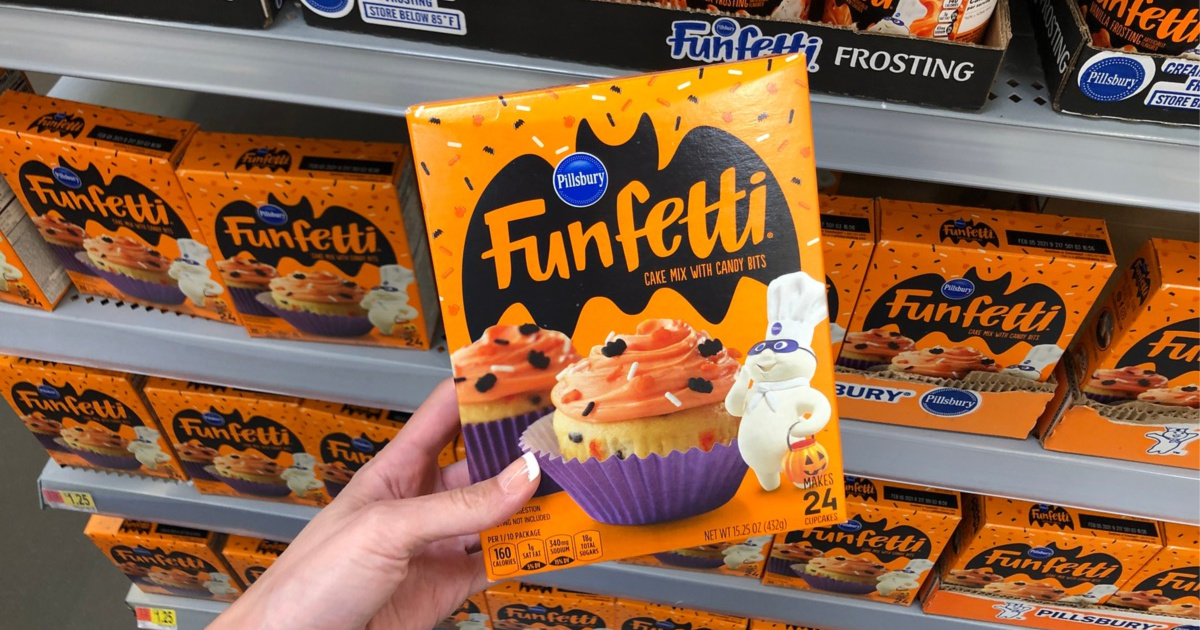 New Pillsbury Halloween Cake Mix & Frosting NOW at Walmart