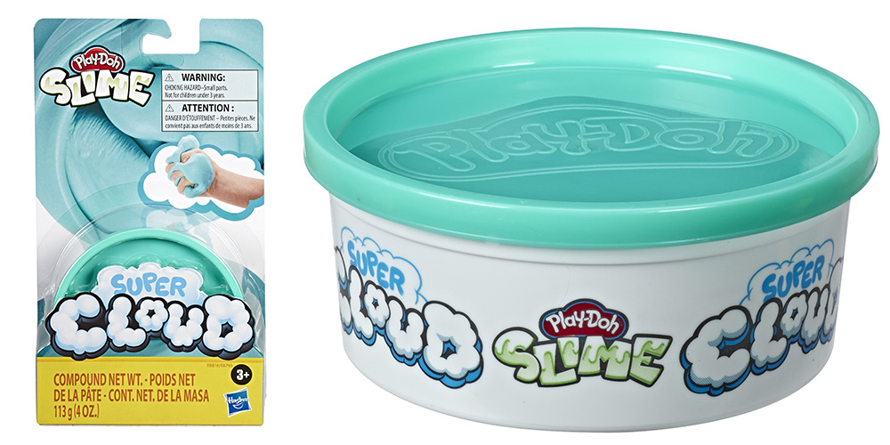 container of Play-Doh Cloud Slime