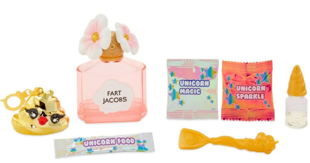 contents of Poopsie Slime Surprise Poop Pack