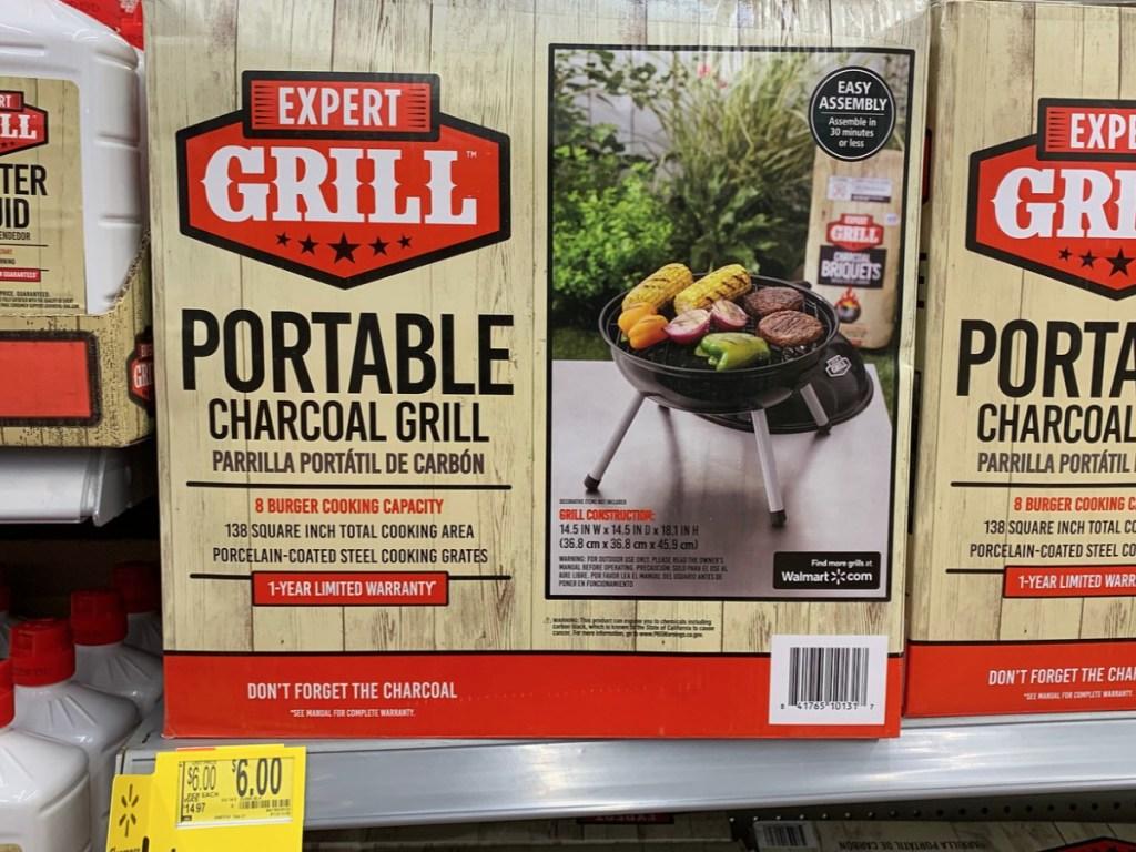 Portable Charcoal Grill at Walmart