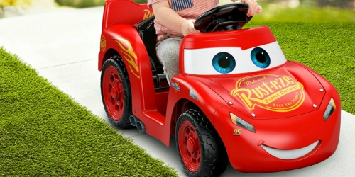Power Wheels Disney Cars 3 Lightning McQueen Ride-On Only $67.49 + Get $10 Kohl's Cash