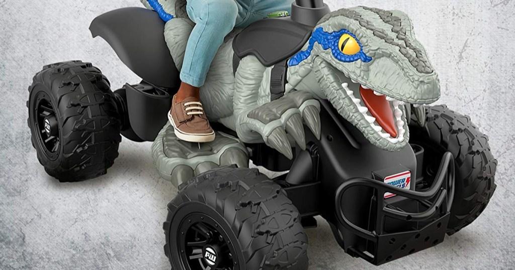 Power Wheels Jurassic World Dino Racer2