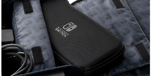 Messenger Bag Carrying Case for Nintendo Switch Only $20.78 at Amazon (Regularly $35)