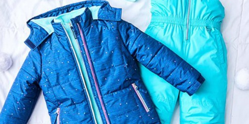 Hooded Puffer Jacket AND Snowbib Only $36.99 (Regularly $79) | Baby, Toddler & Big Kids