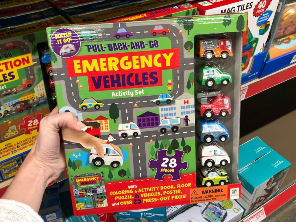 Pull Back and Go Car Book