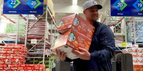 Starbucks Pumpkin Spice K-Cups 72-Count Just $29.98 at Sam's Club (Only 42¢ Per Cup)