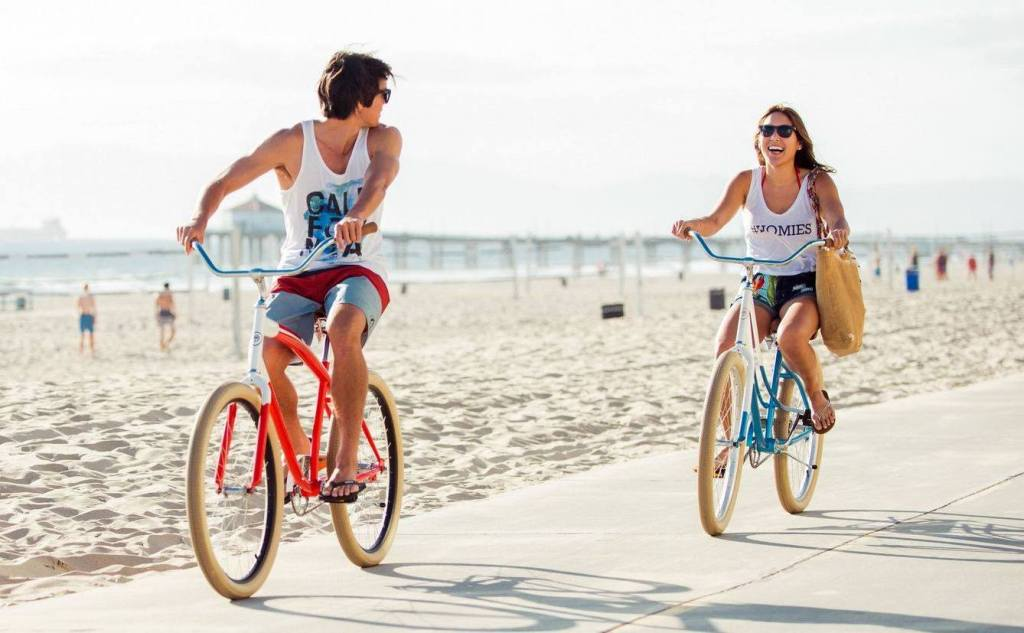 people riding Pure Cycles Bikes