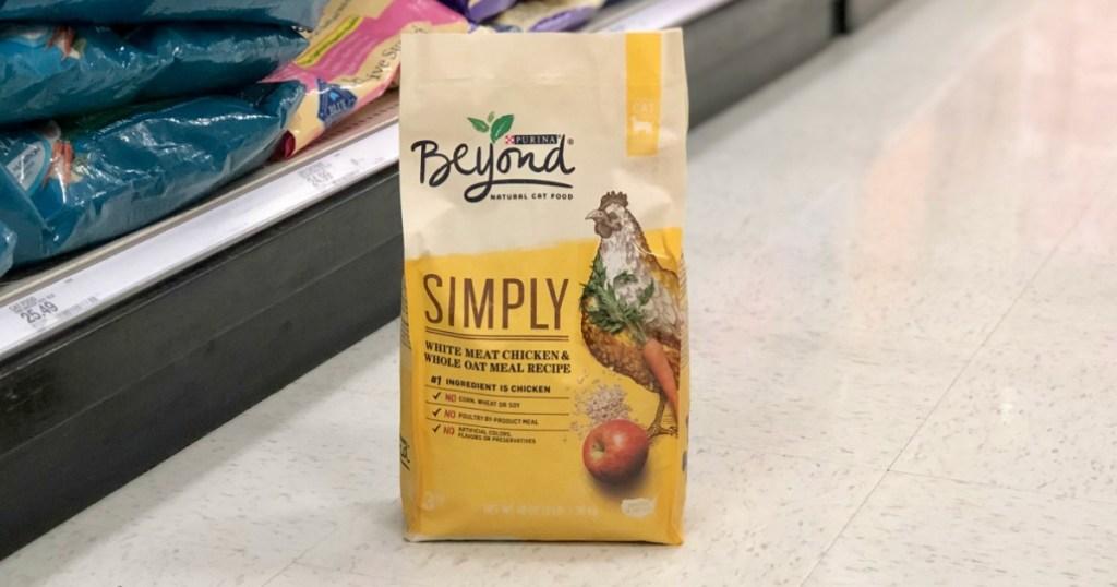 Purina Beyond Simply Cat Food on Target floor