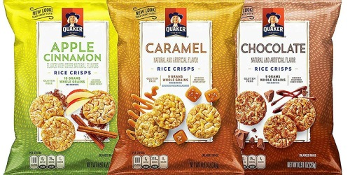 Quaker Rice Crisps 30-Count Variety Pack Only $11.89 Shipped at Amazon