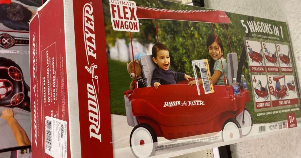 Radio Flyer Ultimate Flex Wagon box