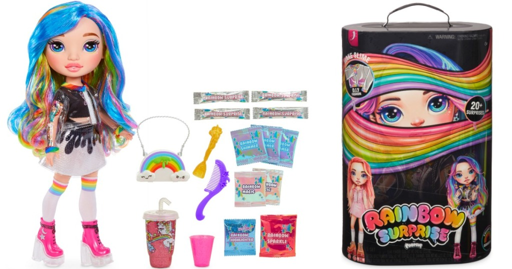 Rainbow Surprise by Poopsie Doll with accessories