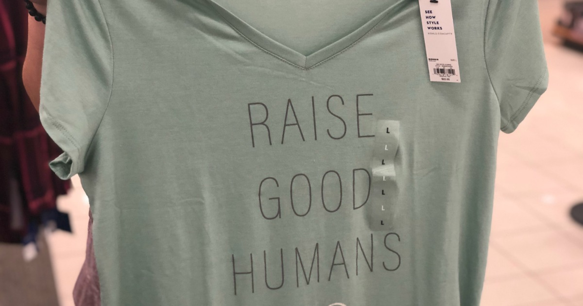 raise good humans tee