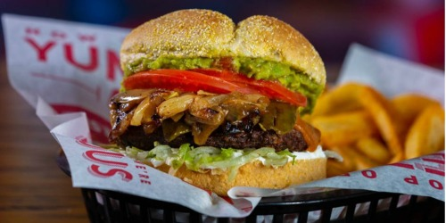 Buy 1 Red Robin Burger & Get 1 Burger Free