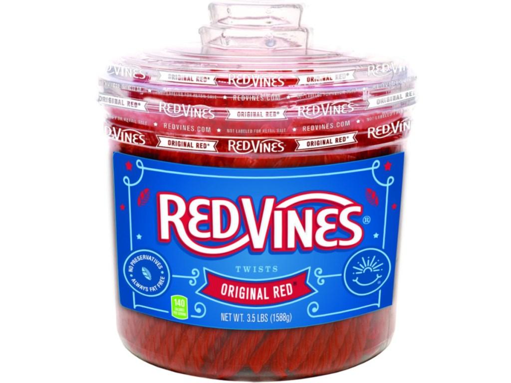 Red Vines 3.5lb Jar