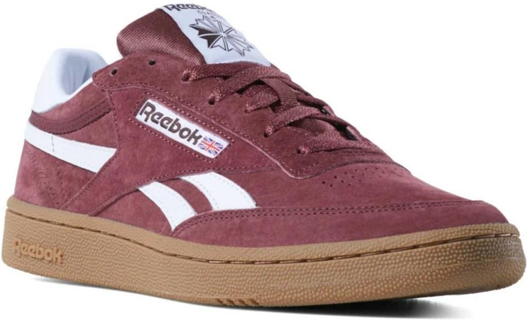 Reebok Classics Sneakers in burgundy for men or women