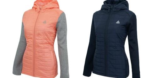 Reebok Women's or Men's Full Zip Jacket Only $34 (Regularly up to $145)