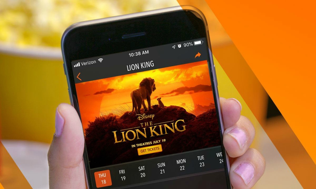 Regal mobile app