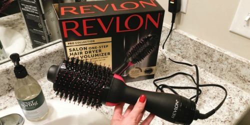 Revlon One-Step Hair Dryer & Volumizer Deal Just $33 at Target.com (Regularly $60)