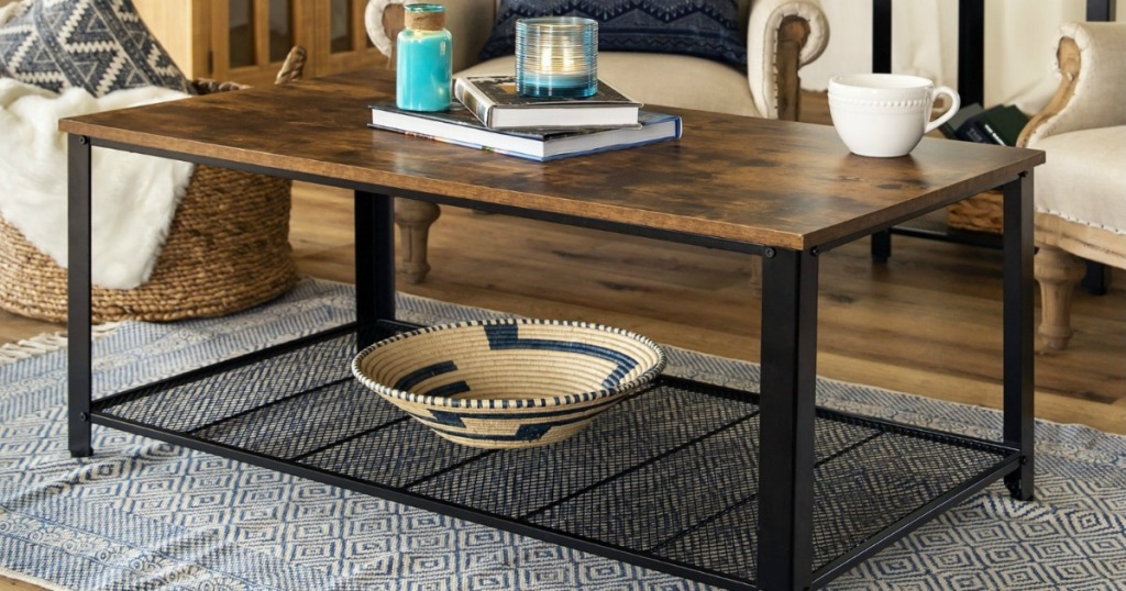 Rustic Coffee Table Only 55 99 Shipped Regularly 86