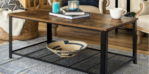Rustic Coffee Table Only $55.99 Shipped (Regularly $86)