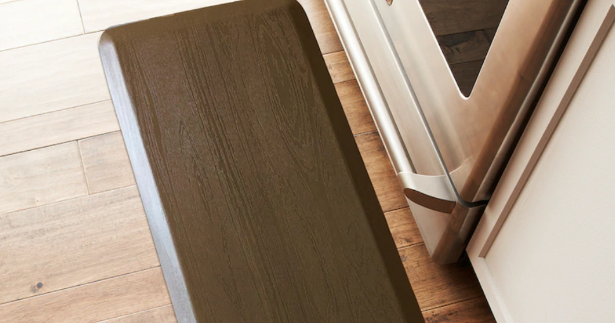 SONOMA Goods for Life™ Ultimate Comfort Woodgrain Cushioned Kitchen Mat