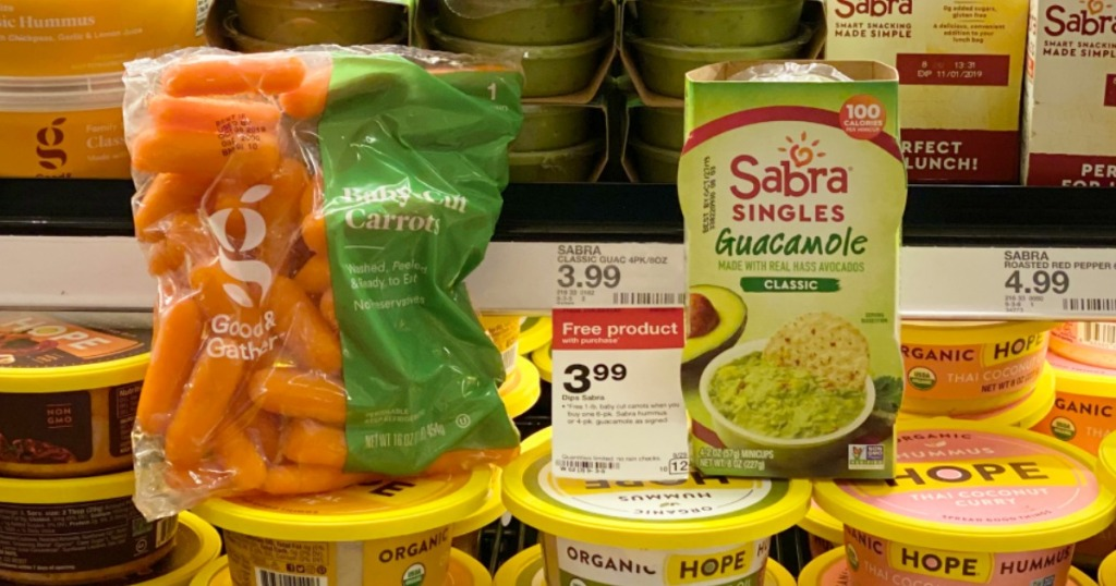 Sabra Singles and carrots