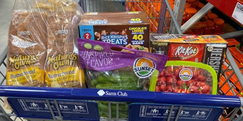 $15 Off $50+ Purchase at Sam's Club | Save on Produce, Halloween Candy, Household Products & More