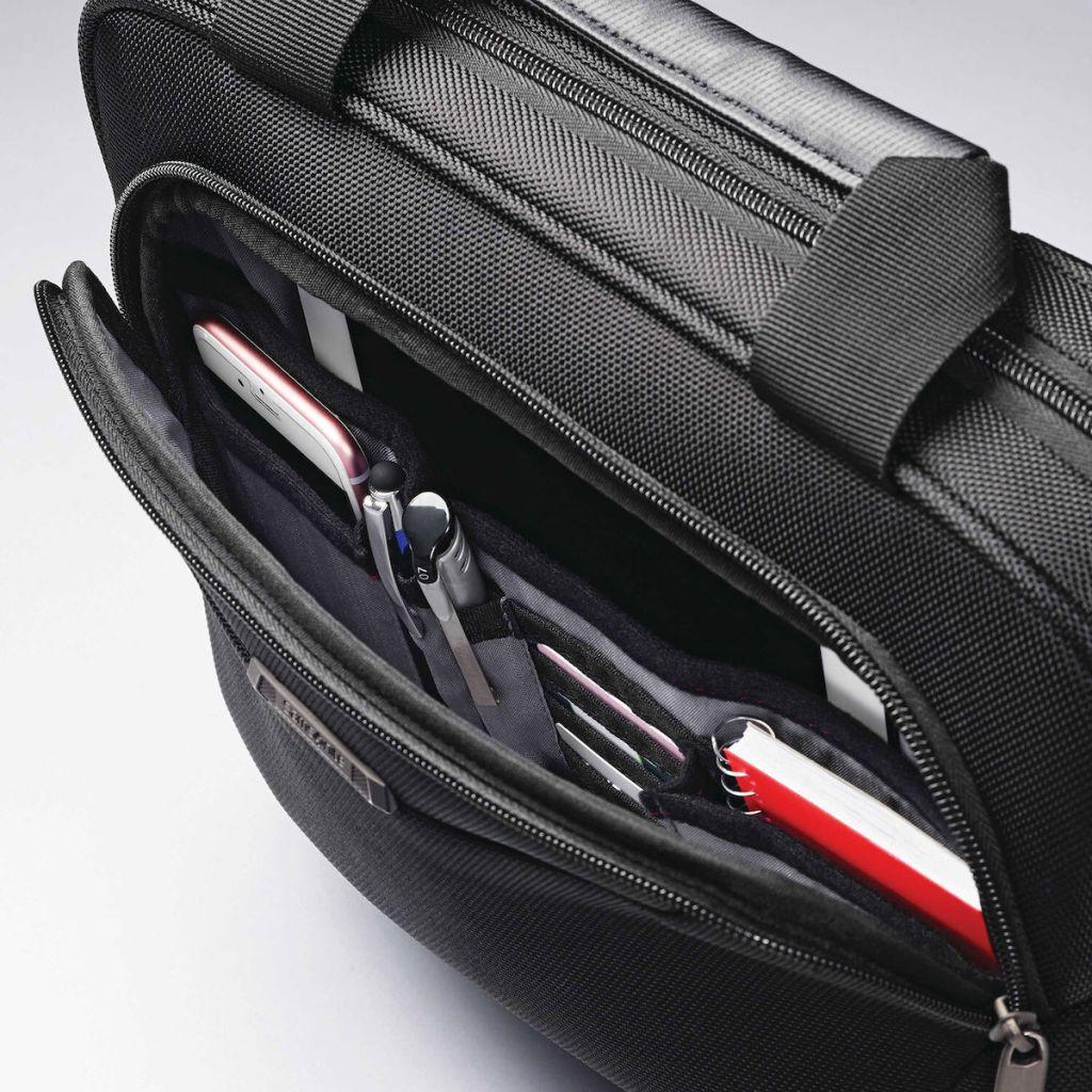 Samsonite Laptop bag opened