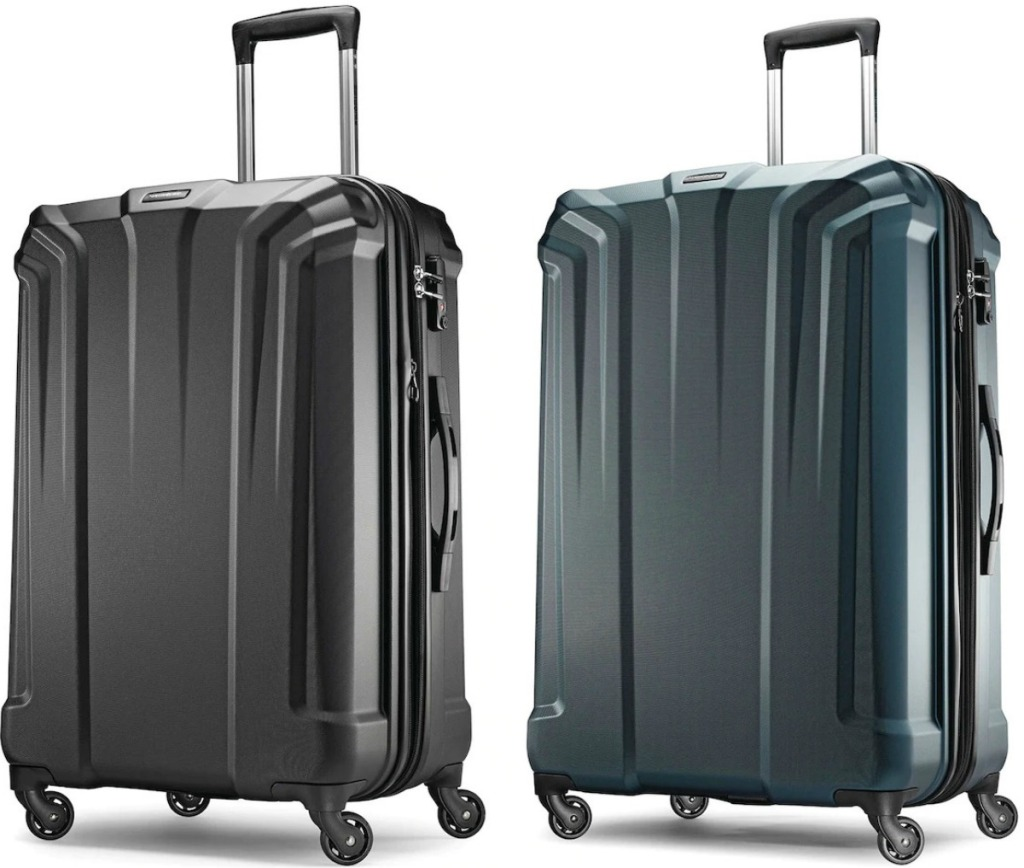 Samsonite brand luggage
