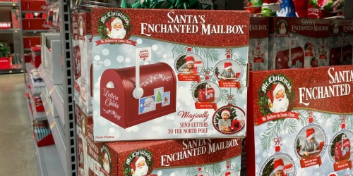 Santa's Enchanted Mailbox Just $24.97 at Walmart | Magically Send Letters to the North Pole