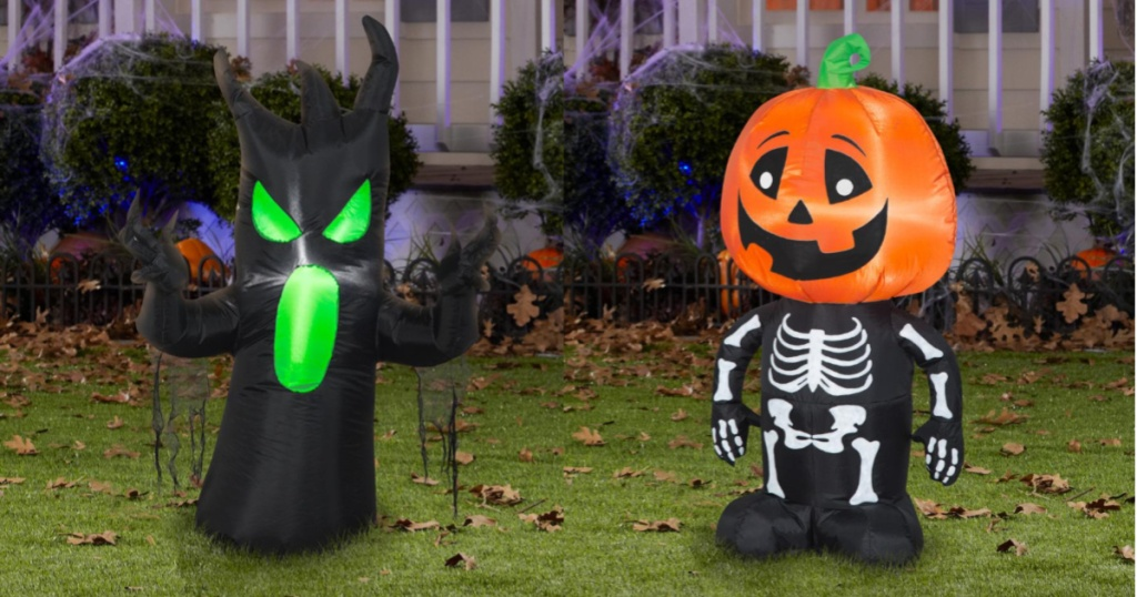 Scary Tree & Pumpkin Boy Combo Set