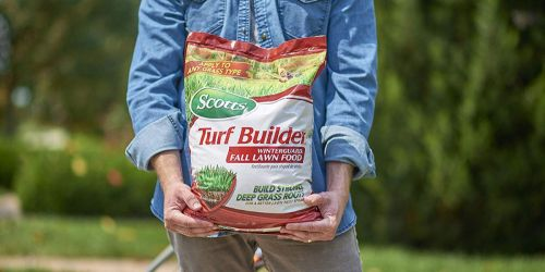 Up to 55% Off Fall Lawn Care Products on Amazon
