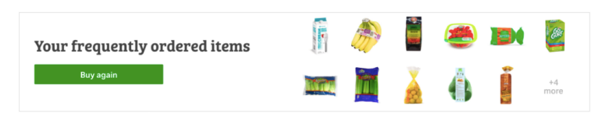 various items regularly bought at Sam's Club