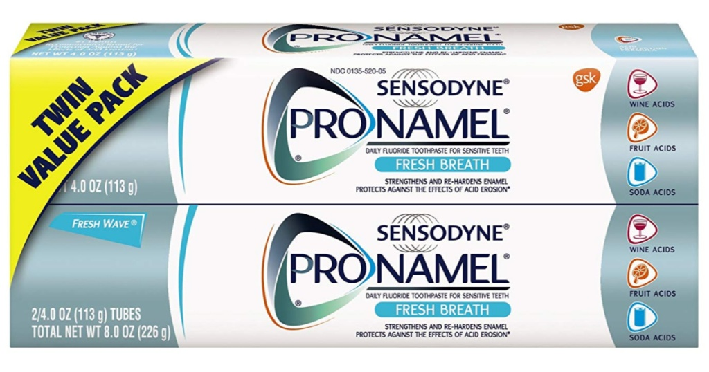 sensodyne toothpaste twin pack