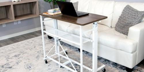 Sit-Stand Adjustable Fold-Away Desk & Workstation Just $109.98 Shipped (Regularly $250)