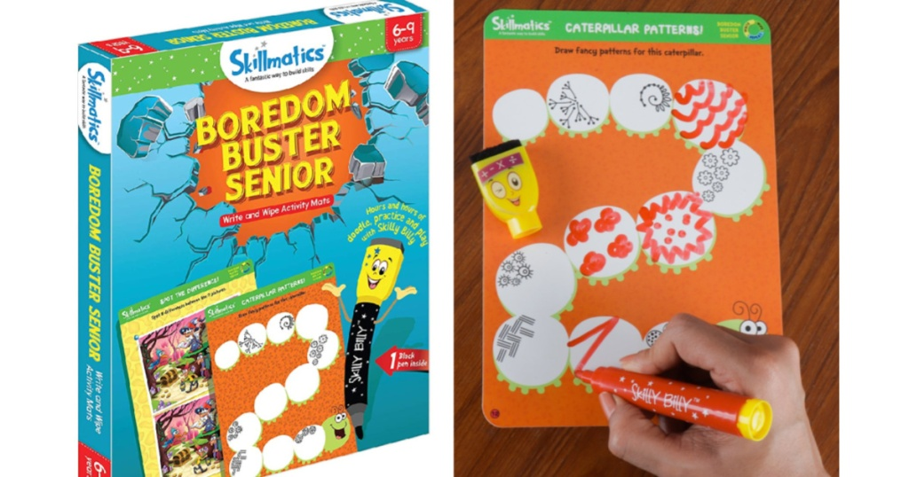 Skillmatics Educational Game: Boredom Buster Senior (6-9 Years)