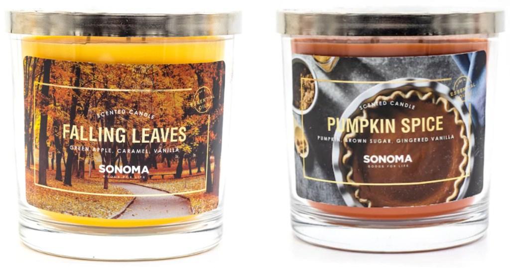 kohls sonoma candles