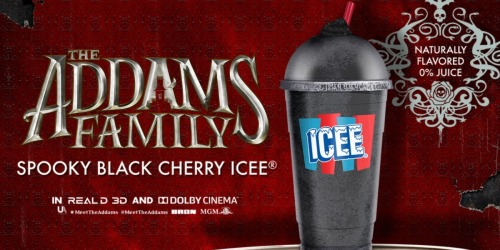 AMC Released Jet-Black Icee in Honor of The New Addams Family Movie