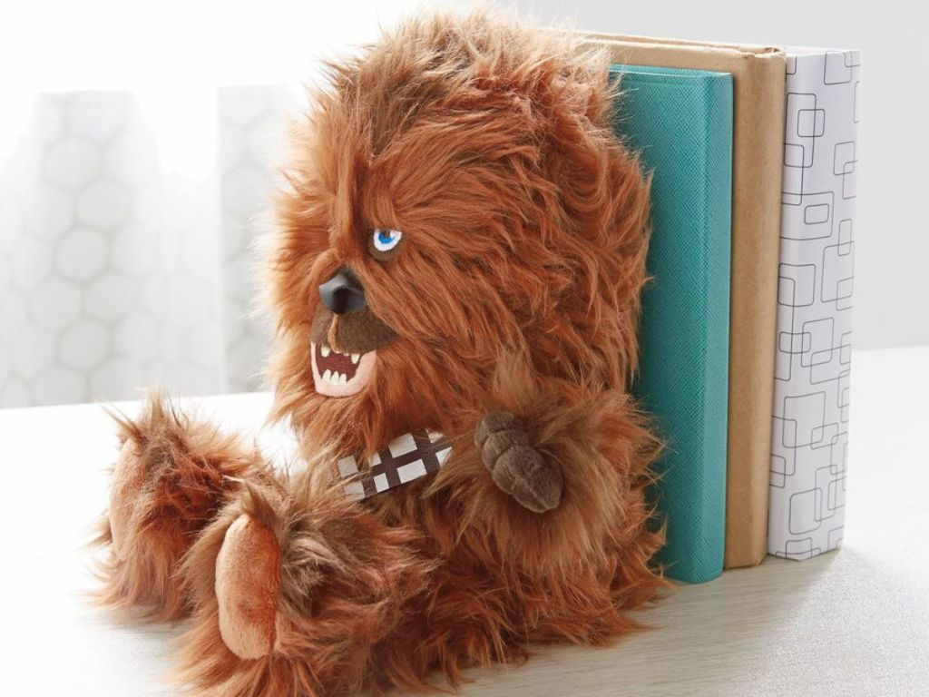 Star Wars Chewbacca Bookend with books