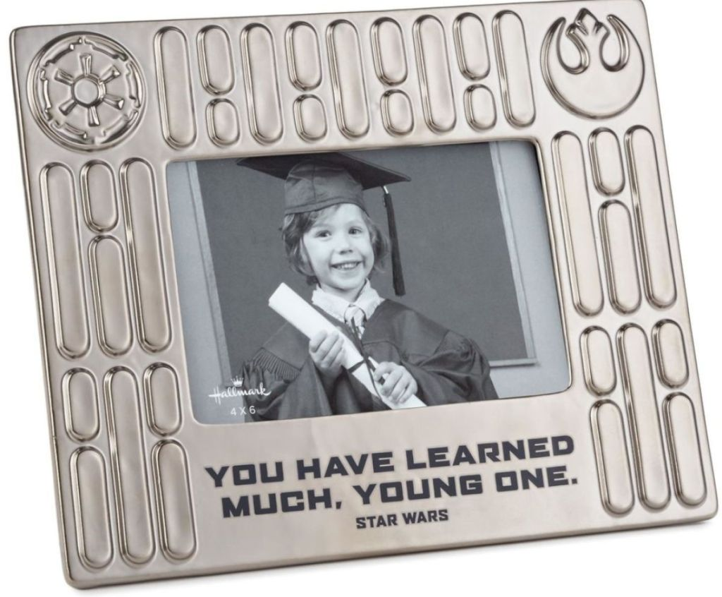 Star Wars Learned Much 4x6 Picture Frame