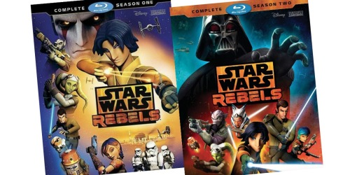 50% Off Star Wars Rebels Complete Seasons 1 – 3 on Blu-ray at Target