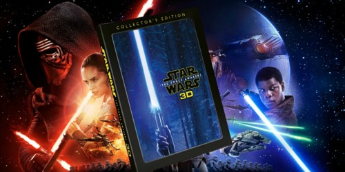 Disney Movie Rewards: Star Wars The Force Awakens Blu-ray Only 600 Points + More