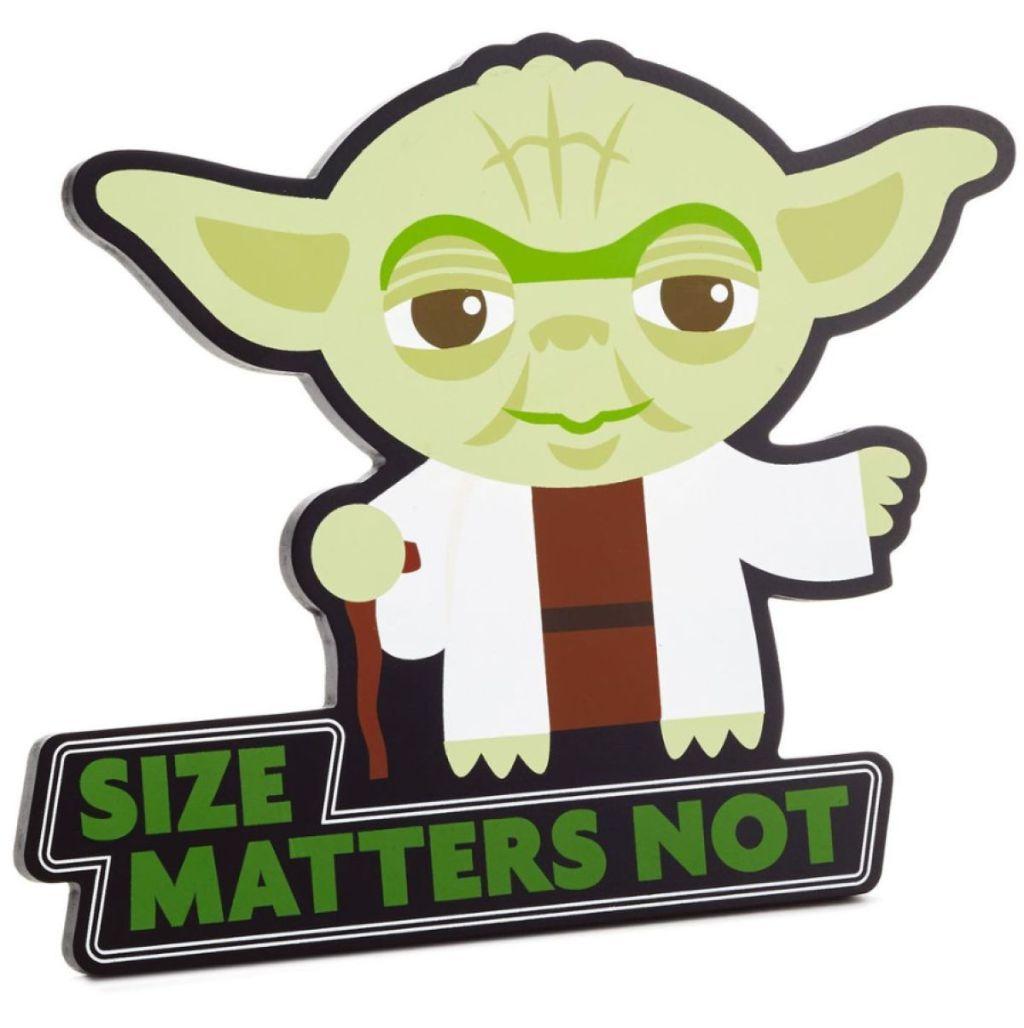 Star Wars Yoda Wall Décor