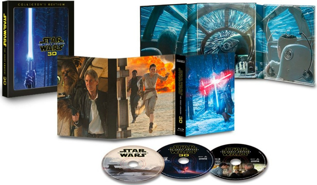 Star Wars Collectors Edition of The Force Awakes