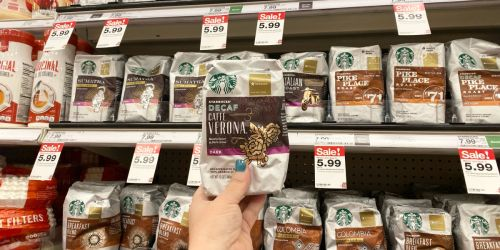 Starbucks Bagged Coffee Only $3.99 Each at Target After Cash Back