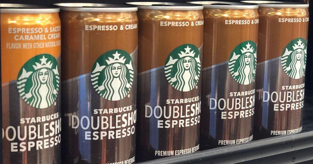 Starbucks Espresso & Cream on shelf