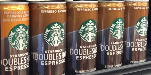Starbucks Doubleshot Espresso 12-Pack as Low as $12 Shipped at Amazon